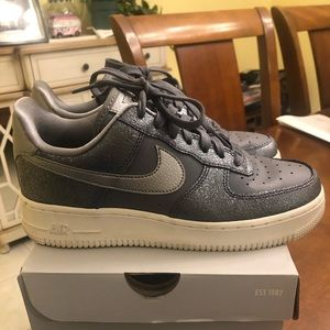 Nike Shoes - Nike Air Force 1 Blue women's size 7.5